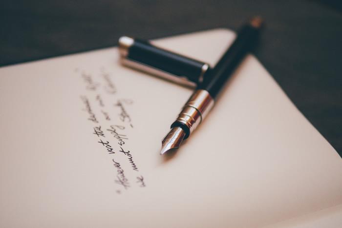 Razones para escribir con pluma