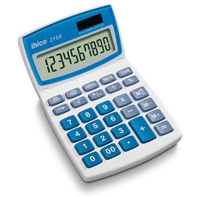 Calculadora IBICO 210X 10 dígitos (IB410079)