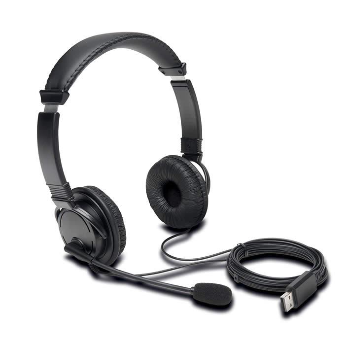 Auriculares Kensington hi-fi usb con micrófono (k97601ww)