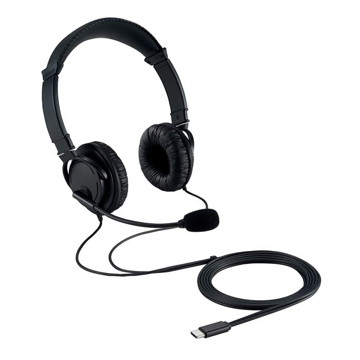 Auriculares Kensington hi-fi usb-c con micrófono (k97457ww)