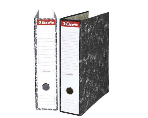 Archivador ESSELTE jaspeado tamaño Folio 70 mm sin rado (46959)