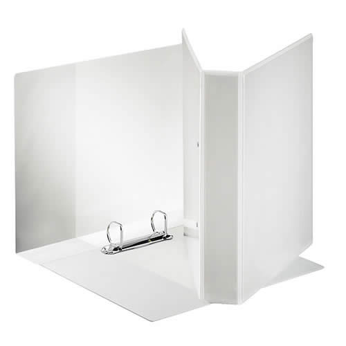 Carpeta ESSELTE canguro A4 4 anillas 40 mm bolsa transparente (55295)