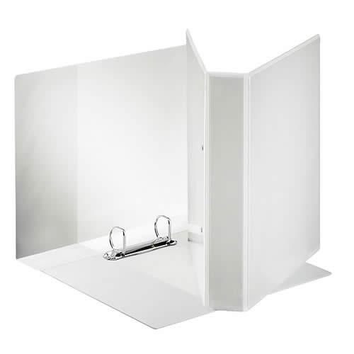 Carpeta ESSELTE canguro A4 4 anillas 25 mm bolsa transparente (55292)