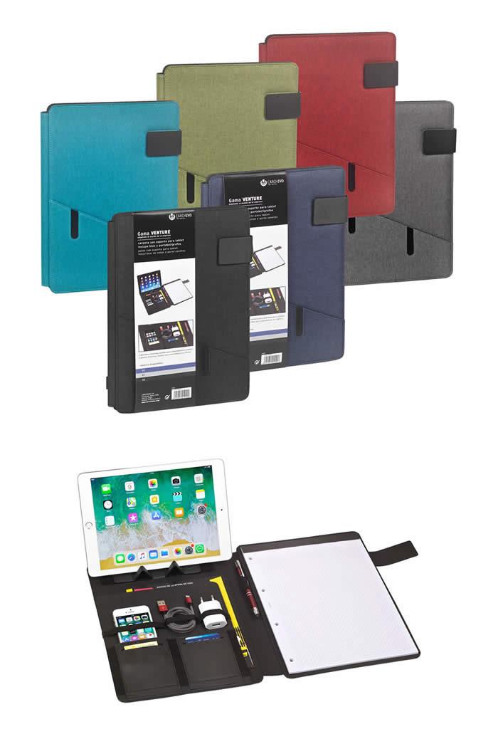 Portadocuments A4 CARCHIVO Venture soporte bolsillos block