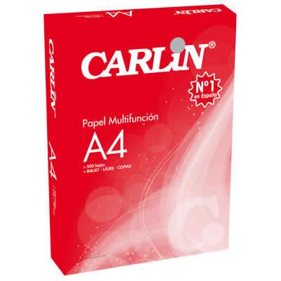 PAPEL CARLIN A4 80 GRS. 500 HOJAS MACULATURA PAPEL (501154)
