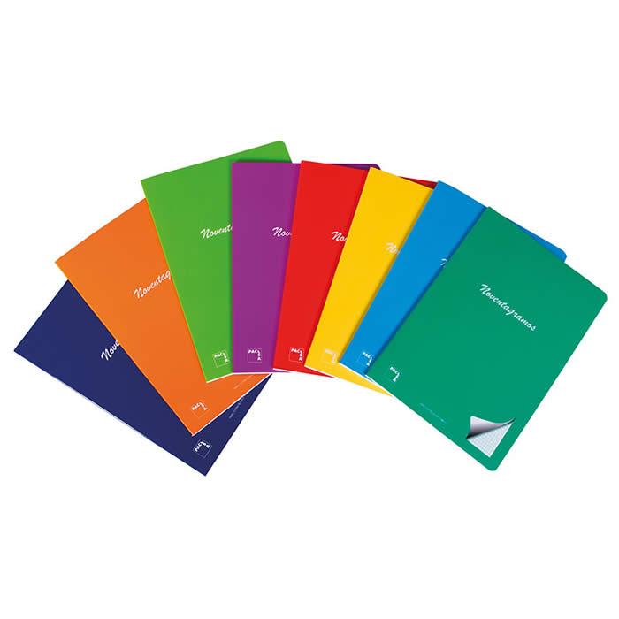Libreta pacsa noventagramos grapadas 4º 48 hojas cdla. Papel extra blanco 90 grs. (20090)