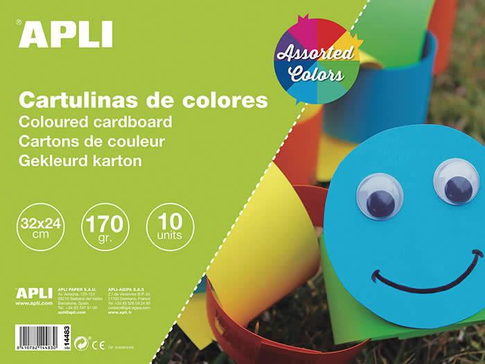 Bloc cartulinas Apli (0601375)