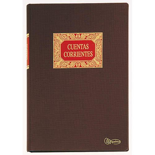 LIBRO MIQUELRIUS CUENTAS CORRIENTES 100 HOJAS (4022)
