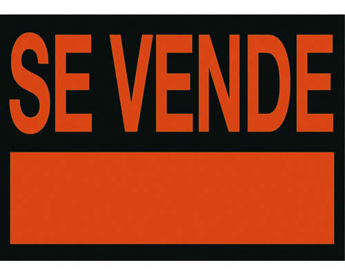 """Cartel ARCHIVO 2000 """"SE VENDE"""" 50 X 70 cm (01C6160NE)"""