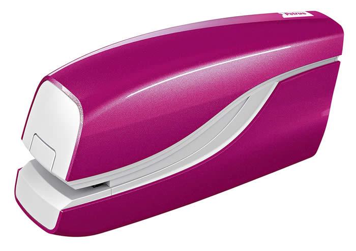 Grapadora eléctrica PETRUS E-310 Wow. Colores metalizados.