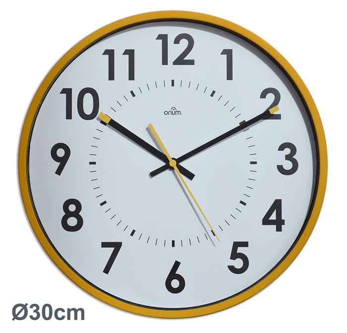 Reloj de pared ARCHIVO 2000. Analógico, silencioso 30 x 300 mm
