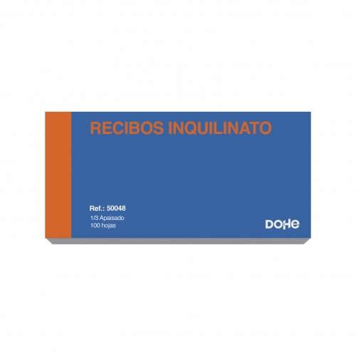 TALONARIO COMUNIDAD PROPIETARIOS DOHE 100 HOJAS 20,5X10,2 CM. (50048)
