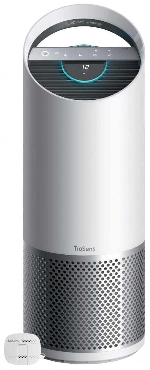 Purificador de aire Leitz TruSens™ Z-3000 con sistema de control de la calidad del aire SensorPod, espacios grandes