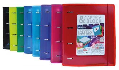 Carpeblock a4+ colores Office Box (0403489)