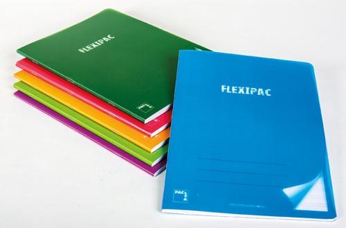 Libreta pacsa flexipac p.p. Grapadas a4 48 hojas cdla. Papel extra blanco 90 grs. (20056)