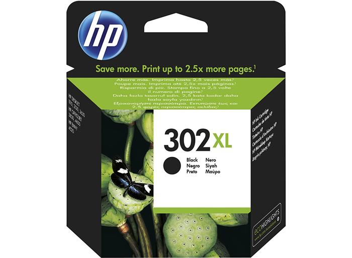 Cartucho de tinta original HP 302XL de alta capacidad negro